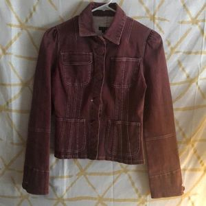 Heart Moon Star button up jacket S